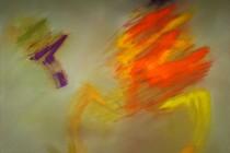 LE SACRE VIII, Öl/Pigment auf Leinwand, 80cm x 100cm (2013)